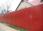 Забор, профнастил Проект2