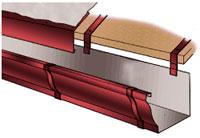 Монтаж водостока прямоугольного сечения 6