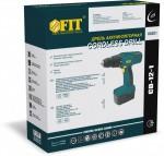 Упаковка дрель-шуруповерт аккумуляторная CD-12 Артикул 80201