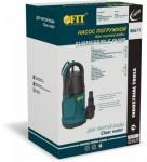 Упаковка насоса погружного для чистой воды WP-751 Артикул 80677