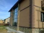 фасад выполнен системой FRONTON